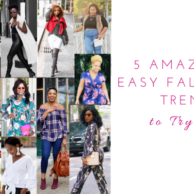 5 Amazingly Easy Fall Style Trends to Try Now