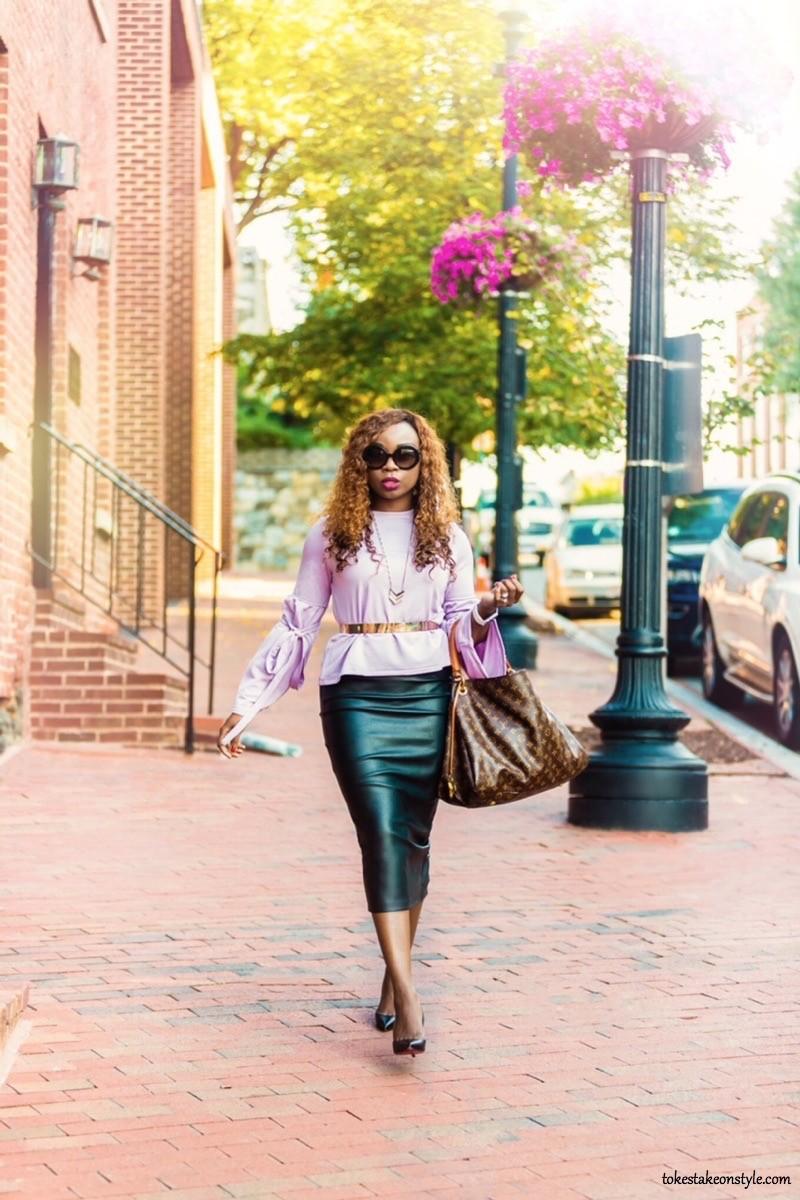 Black blogger street style
