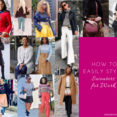 How to Effortlessly Style Sweaters for Work