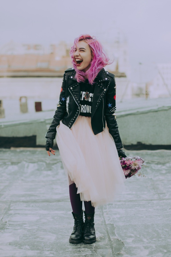 tokestakeonstyle.com-ways-to-style-a-leather-jacket-with-tulle-skirt