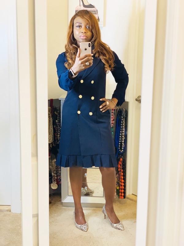 transition-your-summer-wardrobe-to-fall-woman-long-sleeve-blouse-sleeveless-coat-dress