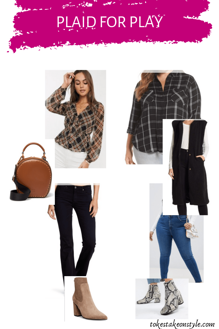 simple ways to style plaid for a casual look with jeans
