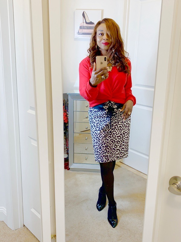 tokestakeonstyle-red-sweater-for-work