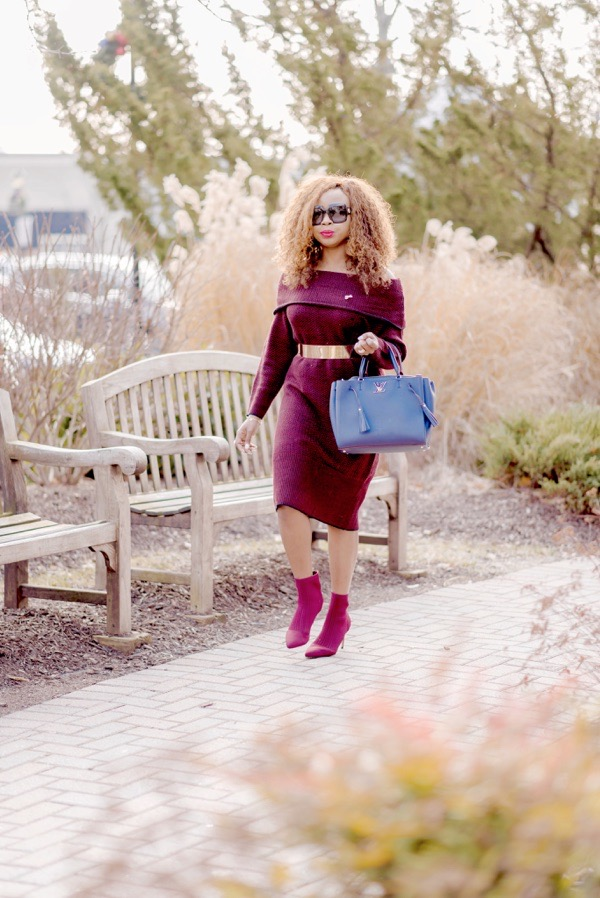 tokes-ojo-ade-how-to-style-a-red-sweater-dress