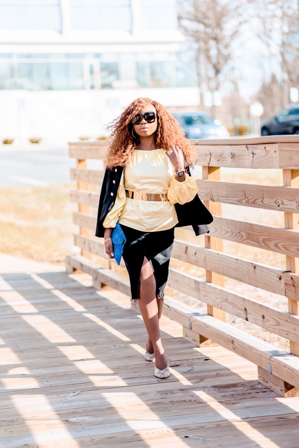 how-to-wear-puff-sleeves-warehoueuk-yellow-blouse-tokestakeonstyle
