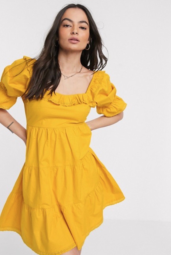 wearable-summer-2020-fashion-trends-neon-yellow-asos-mini-dress