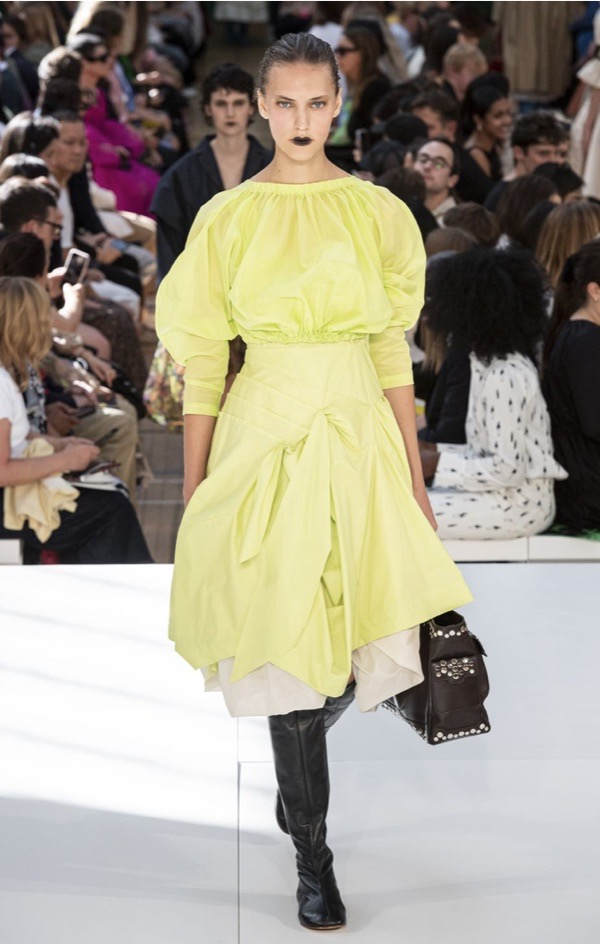 wearable-summer-2020-fashion-trends-chartreuse-dress