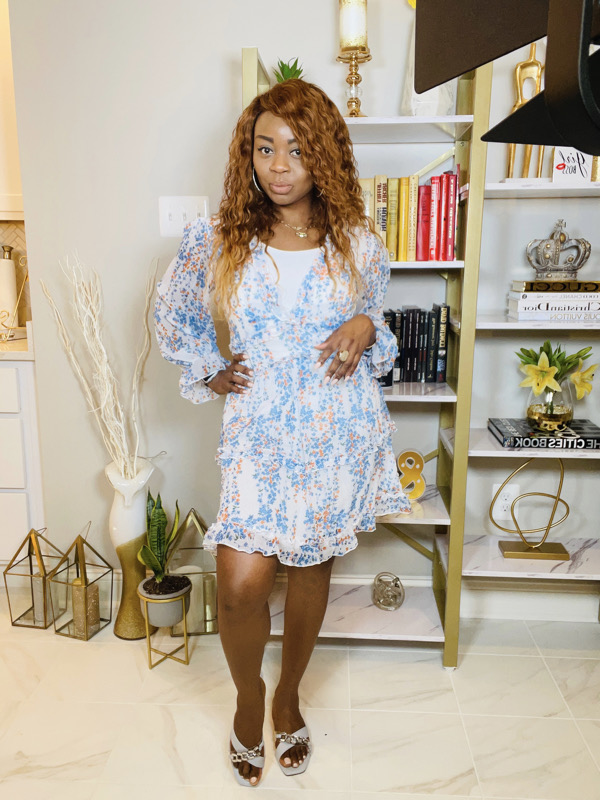 how-to-style-a-floral-mini-dress