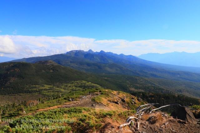 八ヶ岳・北横岳山頂