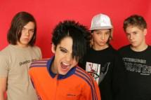Tokio Hotel; Musikgruppe Rockmusik; Vlnr. Georg