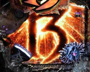 P13日の金曜日 13thロゴフラッシュ