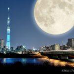 スーパームーンは2016年11月14日。東京、神奈川、埼玉で見るのは難しそう。仙台からなら見られる!?