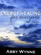 This is a book cover I designed for an energy healer in Ireland.