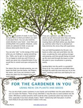 A delightful page from a beautiful e-book I designed for an energy healer in Ireland.