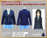 Kostum Cosplay-KON Girls Uniform-088806003287