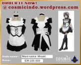 Kostum Cosplay-MaidSama Misaki-088806003287