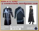 Kostum Cosplay-SAO Kirito Fullcoat-088806003287