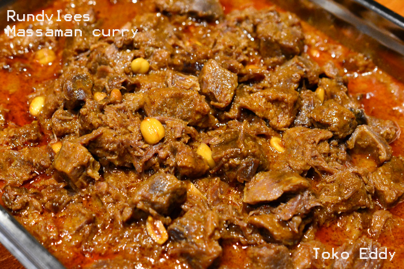 Rundvlees in Massaman curry