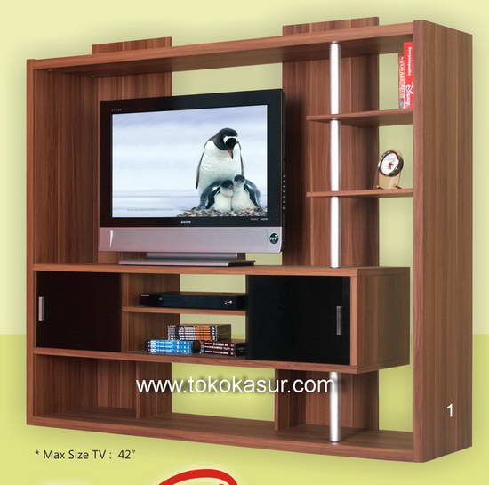 Rak TV  Tempat TV  Audio Video Rack Murah