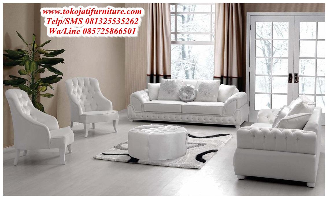 Sofa Ruang Tamu Modern Jepara  wwwtokojatifurniturecom