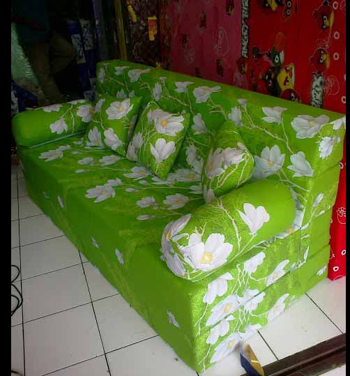 sofa bed kasur busa lipat inoac jakarta wood set picture subang harga distributor jual grosir tangerang murah