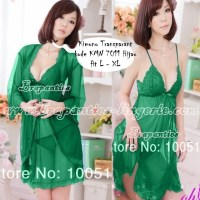 Baju Tidur Sexy - KMN 7011 hijau