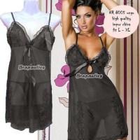 Model Baju Tidur Hot - NR 8005 hitam