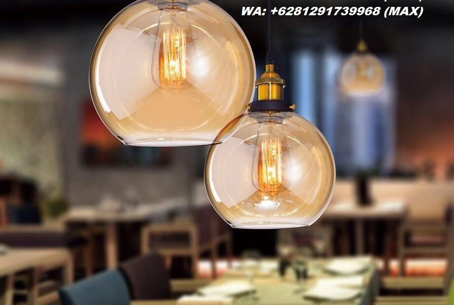 A45 LAMPU HIAS LAMPU GANTUNG INDUSTRIAL JOGJA L580-1-2