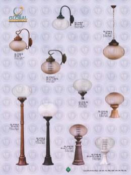 014 LAMPU PILAR DINDING ANDONG DELMAN MALIOBORO