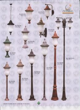 103 LAMPU PILAR DINDING ANDONG DELMAN MALIOBORO