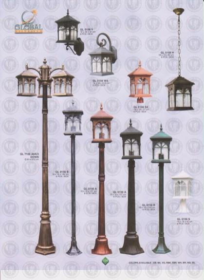 104 LAMPU PILAR DINDING ANDONG DELMAN MALIOBORO