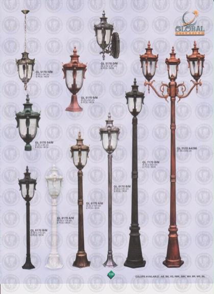 106 LAMPU PILAR DINDING ANDONG DELMAN MALIOBORO