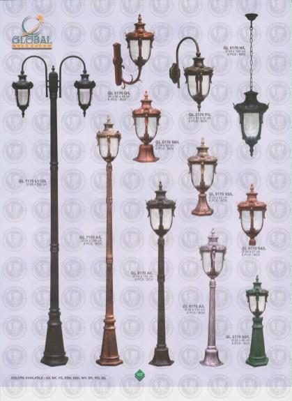 107 LAMPU PILAR DINDING ANDONG DELMAN MALIOBORO