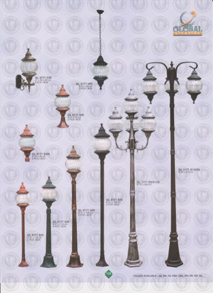 108 LAMPU PILAR DINDING ANDONG DELMAN MALIOBORO