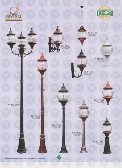 109 LAMPU PILAR DINDING ANDONG DELMAN MALIOBORO