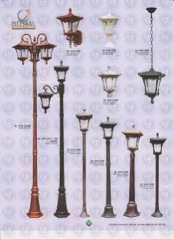 120 LAMPU PILAR DINDING ANDONG DELMAN MALIOBORO