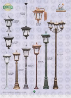 121 LAMPU PILAR DINDING ANDONG DELMAN MALIOBORO