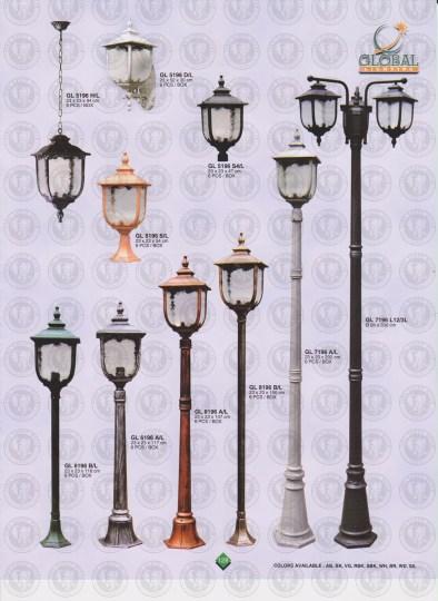 128 LAMPU PILAR DINDING ANDONG DELMAN MALIOBORO