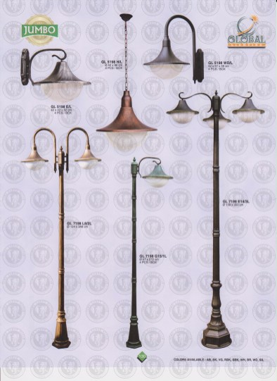 130 LAMPU PILAR DINDING ANDONG DELMAN MALIOBORO