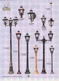 131 LAMPU PILAR DINDING ANDONG DELMAN MALIOBORO