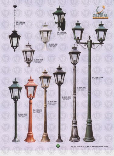 132 LAMPU PILAR DINDING ANDONG DELMAN MALIOBORO