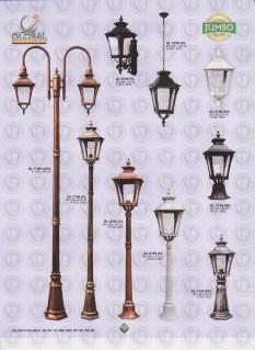 133 LAMPU PILAR DINDING ANDONG DELMAN MALIOBORO