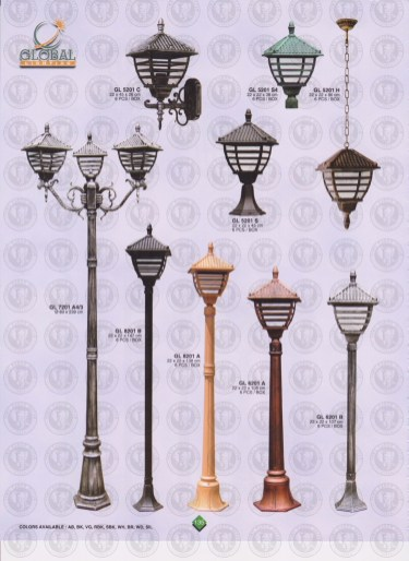 135 LAMPU PILAR DINDING ANDONG DELMAN MALIOBORO