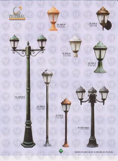 140 LAMPU PILAR DINDING ANDONG DELMAN MALIOBORO