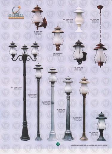 142 LAMPU PILAR DINDING ANDONG DELMAN MALIOBORO