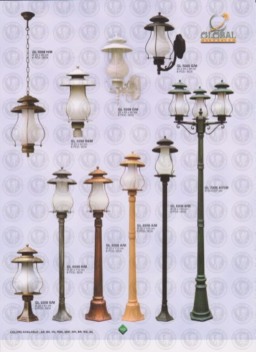 143 LAMPU PILAR DINDING ANDONG DELMAN MALIOBORO