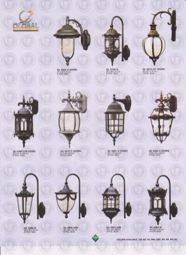 144 LAMPU PILAR DINDING ANDONG DELMAN MALIOBORO