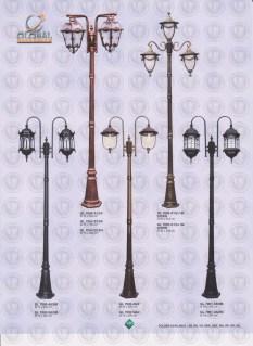 146 LAMPU PILAR DINDING ANDONG DELMAN MALIOBORO