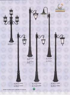 147 LAMPU PILAR DINDING ANDONG DELMAN MALIOBORO