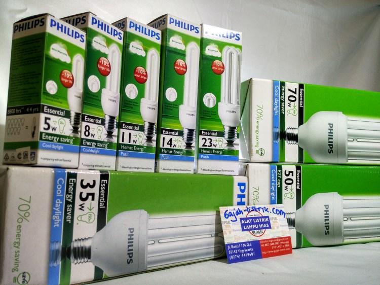 Philips CFL Essential 5W, 8W, 11,W, 14W, 23W, 35W, 50W, 70W